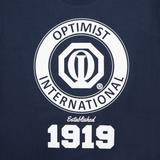 3011 - T-Shirt with NEW Optimist International Logo - thumbnail