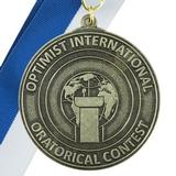 1431 - Oratorical 1st Place Medallion - thumbnail