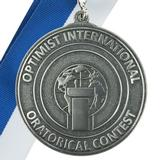 1432 - Oratorical 2nd Place Medallion - thumbnail