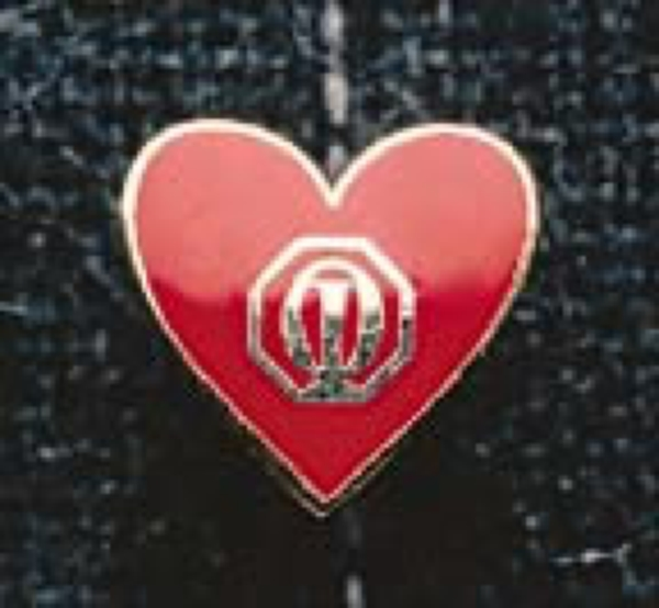 1410 - Red Heart Pin - Primary
