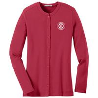 257 - Port Authority Ladies' Concept Stretch Button-Front Cardigan  - Available in 2 colors - thumbnail
