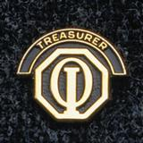 1138 - Club Treasurer Pin - thumbnail