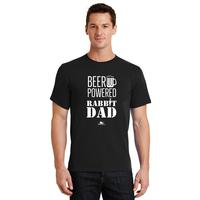 116 - Beer Powered Rabbit Dad T-Shirt - thumbnail