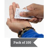 S107 - Sanitizer Gel Packet (Pack of 100) - thumbnail
